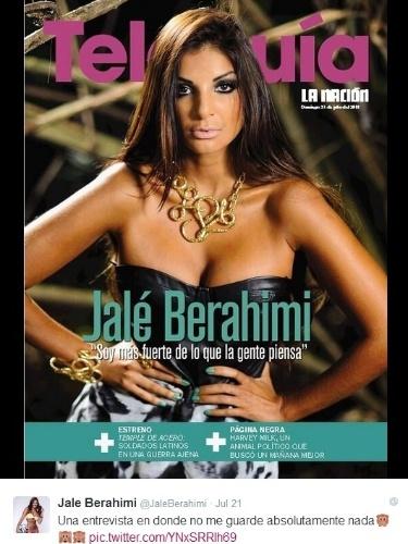 Jale Berahimi já é bem conhecida dos costarriquenhos. mas agora virou fenômeno global