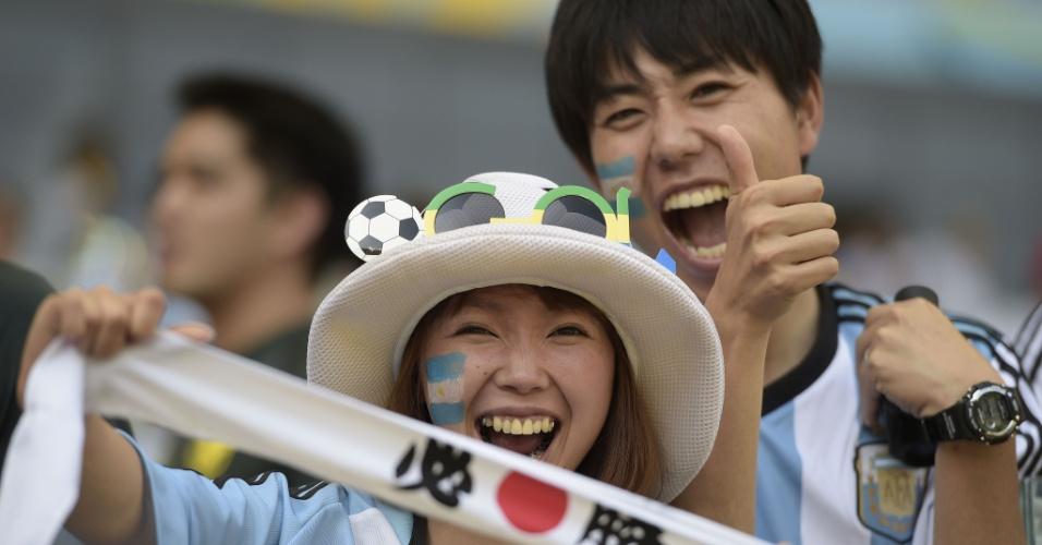 Japoneses também entram na torcida da Argentina contra o Irã