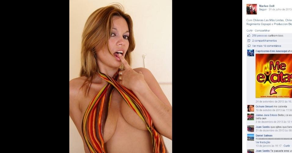 Marlen Doll é atriz pornô chilena