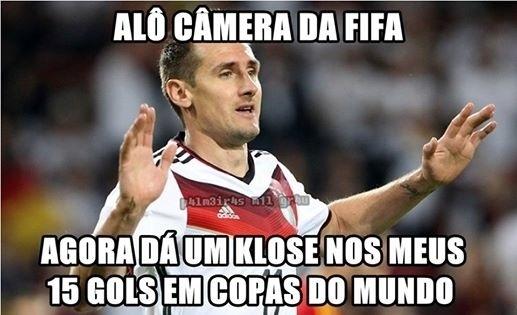 """Gol do alemão até merece um """"klose"""""""