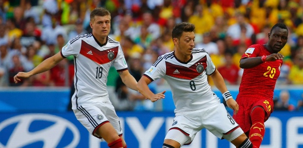 Ozil ressaltou que a Alemanha se preparou 'super bem' para a Copa do Mundo no Brasil