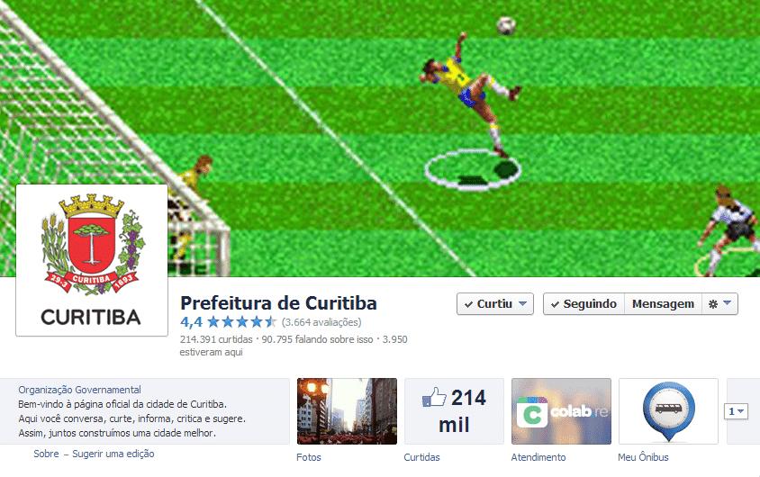 Página oficial de Curitiba no Facebook se popularizou com o humor