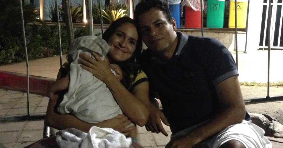 Pai acredita que um dia o filho vai agradecer por ter ficado à espera de Cristiano Ronaldo em Manaus