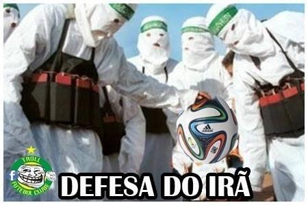 Por isso que os argentinos pareciam fugir da bola...