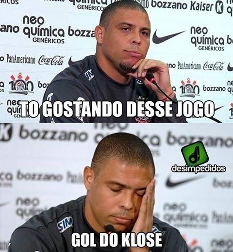 Ronaldo não gostou do final do jogo da Alemanha