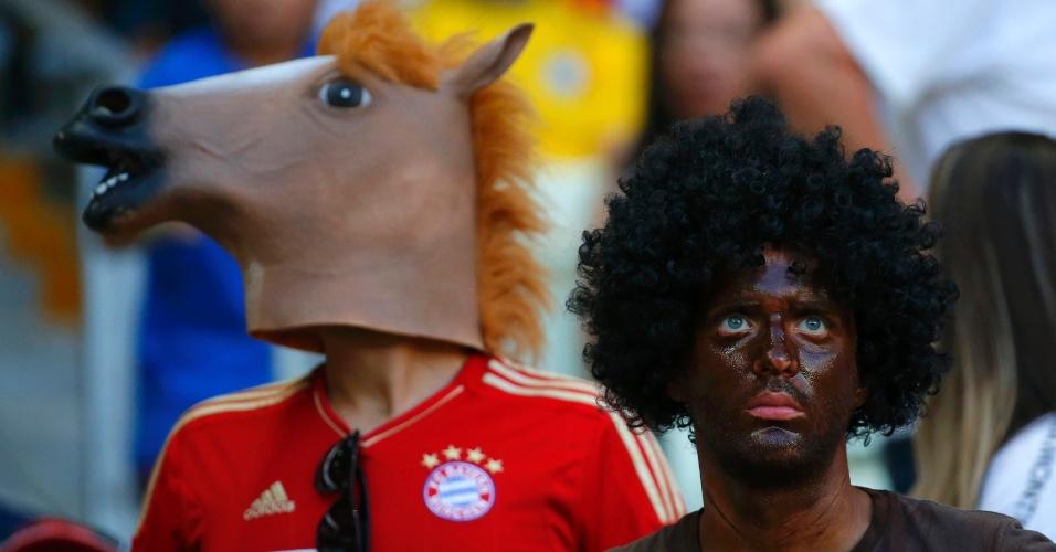 Vestindo a cara de cavalo no Castelão, deve ter sido difícil conseguir ver o gol histórico que colocou Klose ao lado de Ronaldo como o maior artilheiro da história das Copas