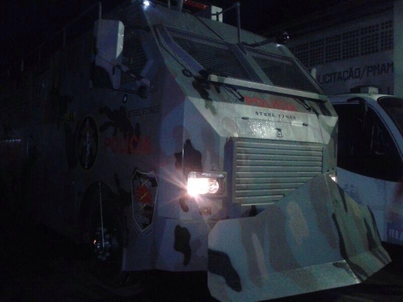 Após a Copa, veículo poderá ser utilizado em rebeliões em presídios e ações de reintegração de posse