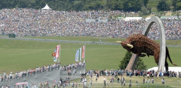 O palco do GP da Áustria é de propriedade da Red Bull - HANS KLAUS TECHT/EFE
