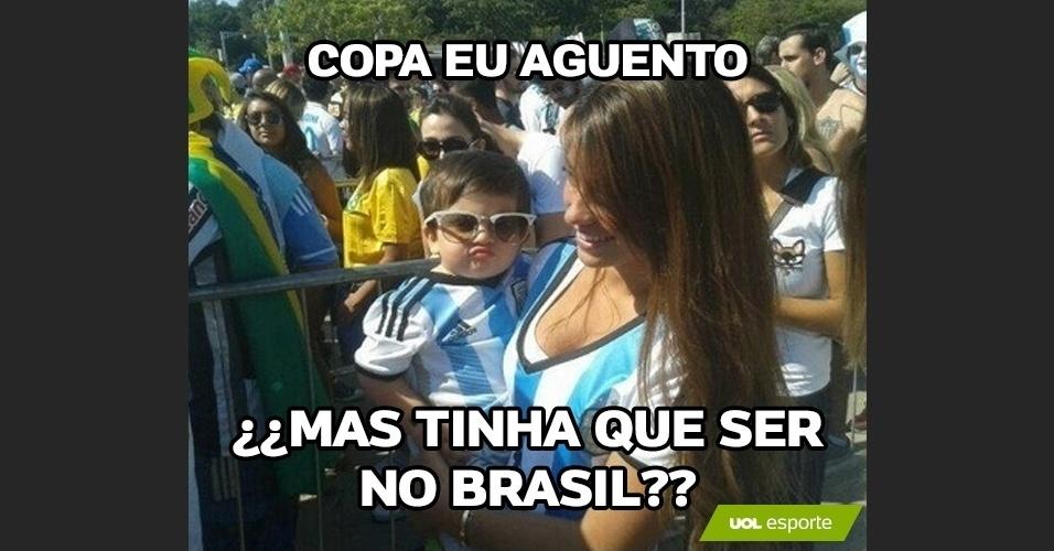 Copa eu aguento, mas tinha de ser no Brasil?