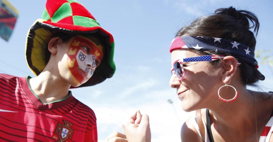 Duelo entre Portugal e Estados Unidos começa antes mesmo do jogo na Arena Amazônia