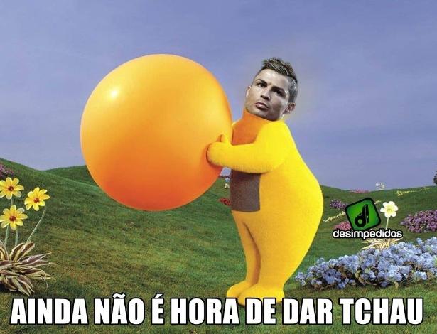 Foi quase, mas ainda não é hora de dar tchau, Cristiano Ronaldo