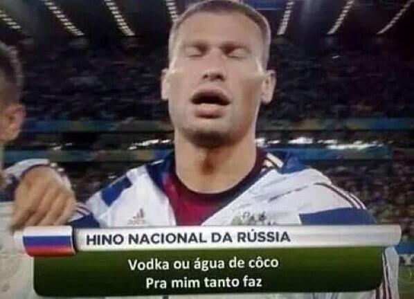Hino da Rússia também ganhou a sua versão da zoeira