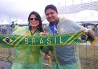 Brasileiros deixam seleção de lado para ver Croácia x México no estádio - Carlos Madeiro/UOL