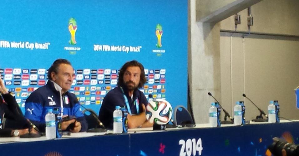 Andrea Pirlo disputa sua última Copa do Mundo