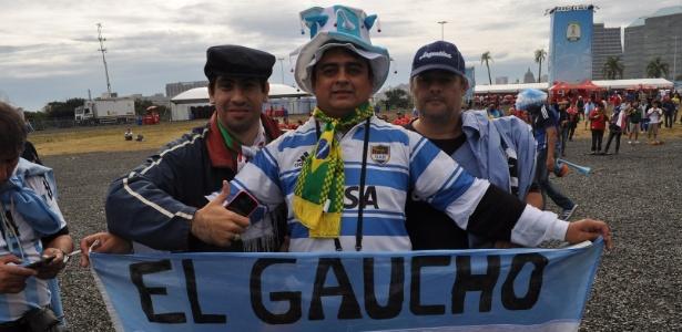Argentinos se negam a torcer contra o Brasil por 'boa vizinhança' em Porto Alegre