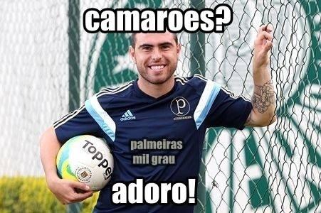 Forma física de Bruno César é piada até na Copa
