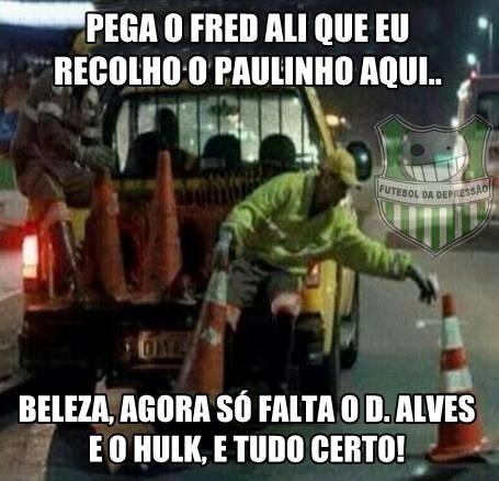 Fred e Paulinho foram muito criticados até nas montagens