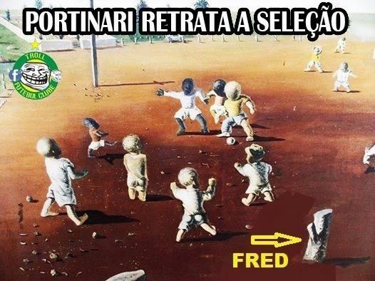 Fred não escapa de nenhuma brincadeira