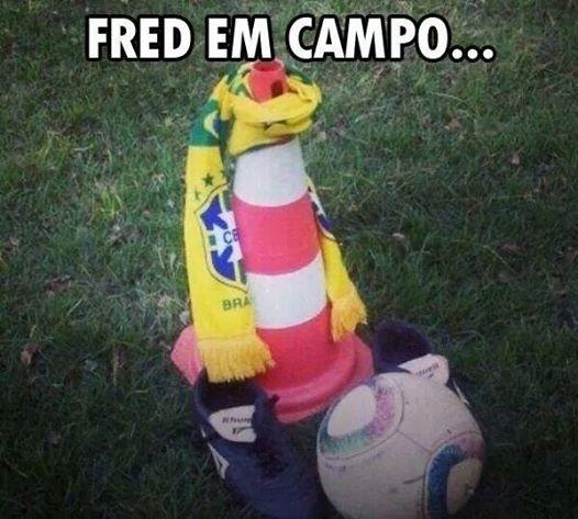 Fred não vem agradando os internautas