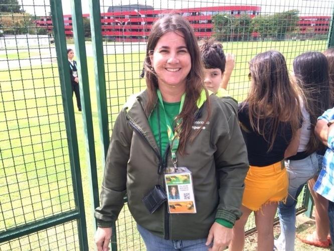 Funcionária do Ministério do Esporte tentou pular cerca de hotel onde está concentrado a seleção brasleira em Brasília
