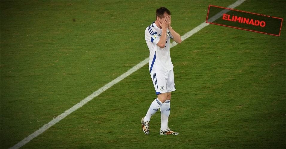 GRUPO F: Bósnia-Herzegóvina - Eliminada