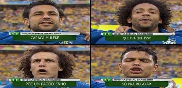 Hino brasileiro ganhou uma nova versão no Mané Garrincha