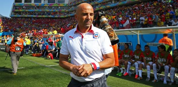 Jorge Sampaoli, técnico do Chile, é um dos que mudaram seleções que estão nas oitavas de final da Copa