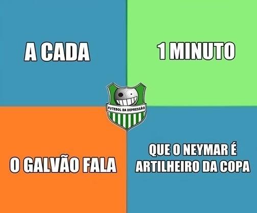 Muitas piadas foram feitas com Galvão Bueno e com a propaganda que virou hit na web