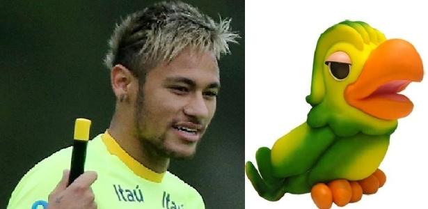 Penteado de Neymar fez o atacante ganhar um sósia