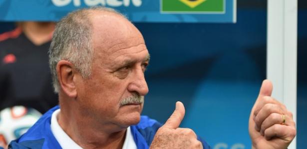 Felipão cogita fazer alterações no time para as oitavas