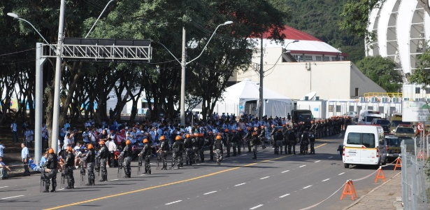 Polícia Militar do Rio Grande do Sul tem reforço no efetivo para conter argentinos