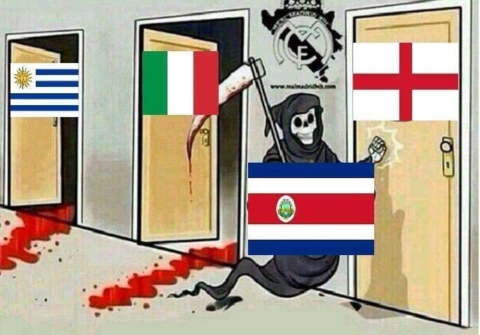 A morte bate à porta da Inglaterra...