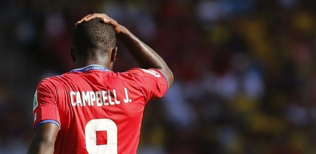 Atacante Joel Campbell foi campeão pelo Olympiacos, da Grécia, e conhece muitos jogadores da seleção grega