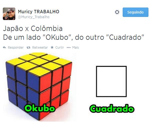 Colômbia, de Cuadrado, e Japão, de Okubo, fazem o clássico da geometria na Copa