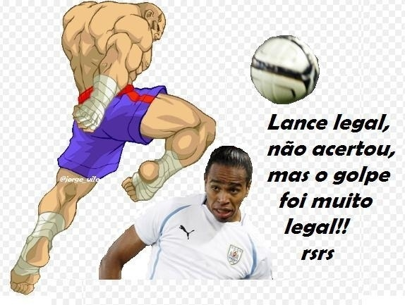 Falta de Balotelli foi comparada a golpe do Street Fighter