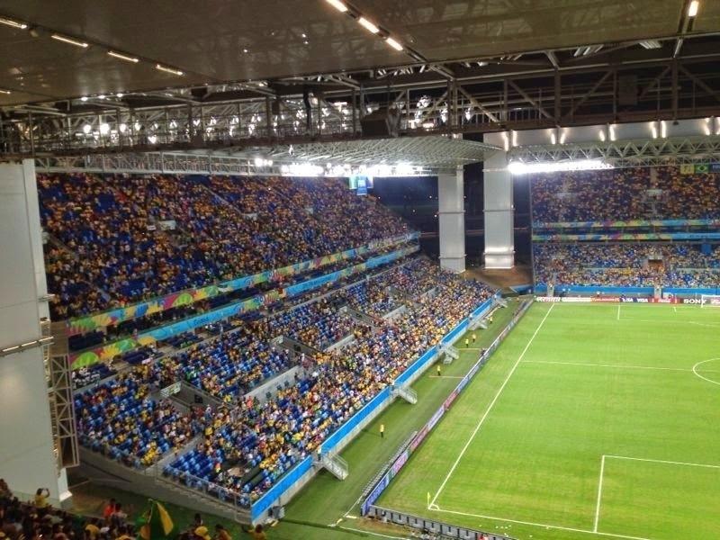 Família brasileira gasta R$ 50 mil para ver jogos em todos os estádios da Copa