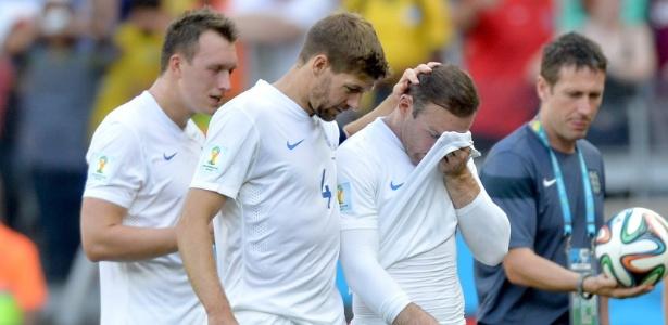 Ex-capitão da Inglaterra, Gerrard se despediu da seleção em julho de 2014, após a Copa - EFE/EPA/PETER POWELL