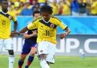 Bandeira gigante é entregue à seleção colombiana - Vanessa Ruiz/UOL