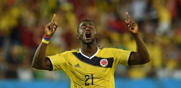 Jackson Martínez custou 41,6 milhões de euros ao Guangzhou Evergrande - AFP PHOTO / TOSHIFUMI KITAMURA
