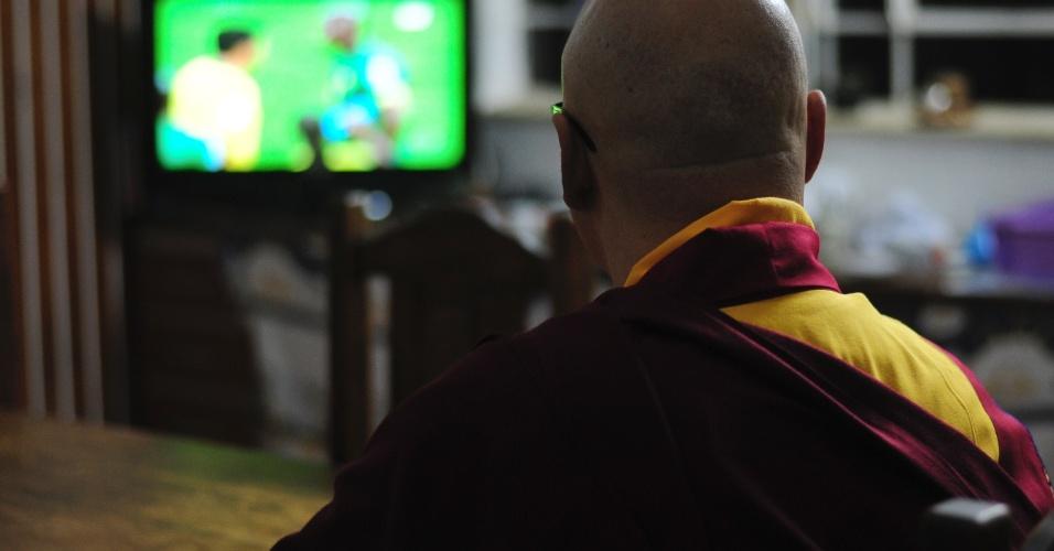 """Lama Rinchen: """"neste quesito, da relação humana, o encontro com perspectivas de encontro com povos tão diferentes da nossa realidade tem que ser vivido intensamente"""""""