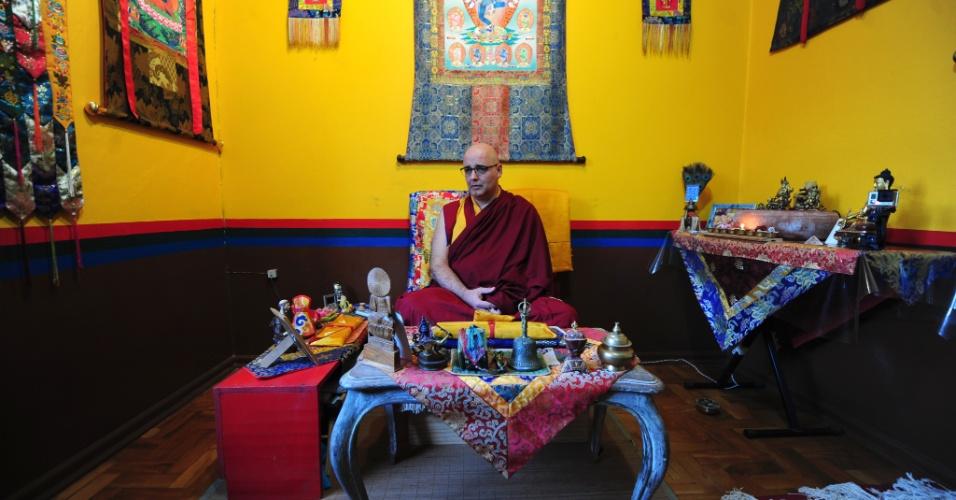 Mosteiro Sakya Tsarpa Thupten Dekyid Oedbar Ling foi desfalcado pela Copa, mas vive as emoções do torneio