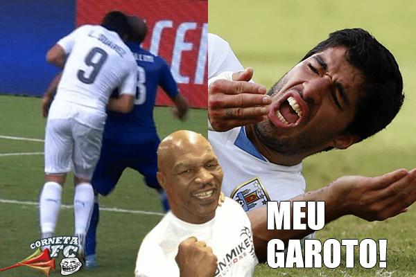 Mike Tyson curtiu Luis Suárez