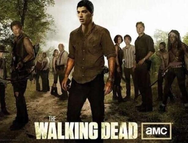 Suárez daria um bom zumbi em The Walking Dead