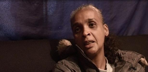 Sueli Rosa Dias, de 45 anos, mãe de Fábio Hamilton Cruz, operário morto em acidente no Itaquerão