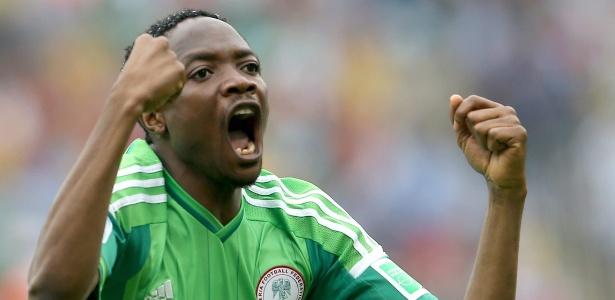 Ahmed Musa é um dos principais nomes da seleção nigeriana