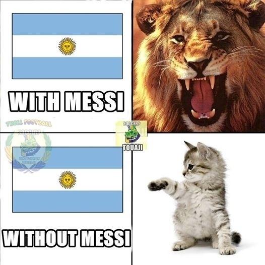 Para torcedores, Messi transforma a Argentina