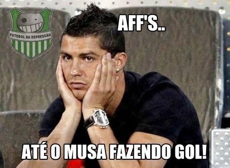 Seca de gols do português gera novos memes da web