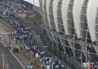 """Corinthians provoca Inter após jogão no Beira-Rio: """"para colocar no DVD"""" - AFP PHOTO/Lucas Uebel"""