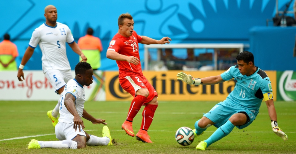 Valladares faz defesa com os pés e impede gol da Suiça
