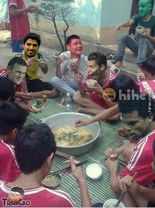 A festa dos eliminados da Copa